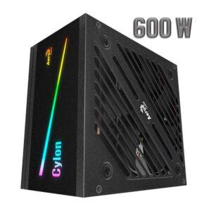 FUENTE AEROCOOL CYLON 600W 80 P BRONZE RGB